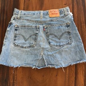 Vintage Levi denim skirt